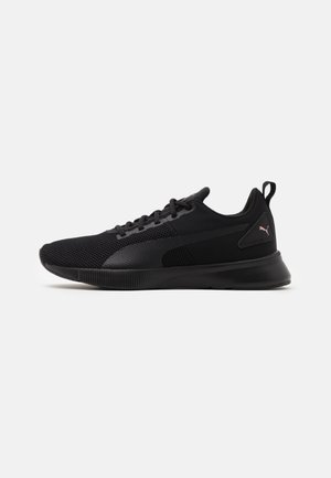 FLYER RUNNER UNISEX - Neutral running shoes - black/rose gold