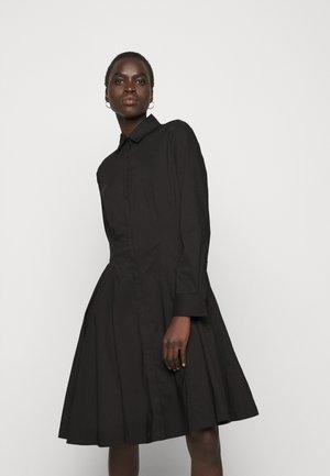 SUMMER DRESS - Shirt dress - black