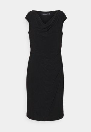 VARELLA CAP SLEEVE DAY DRESS - Robe fourreau - black