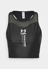 Under Armour - ISO CHILL CROP TANK - Top - black - 4