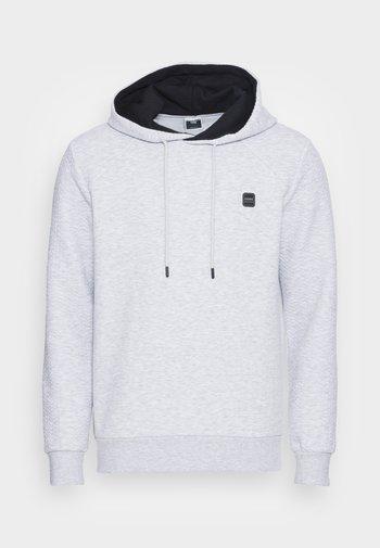 JCOPOWER HOOD - Sweatshirt - light grey melange