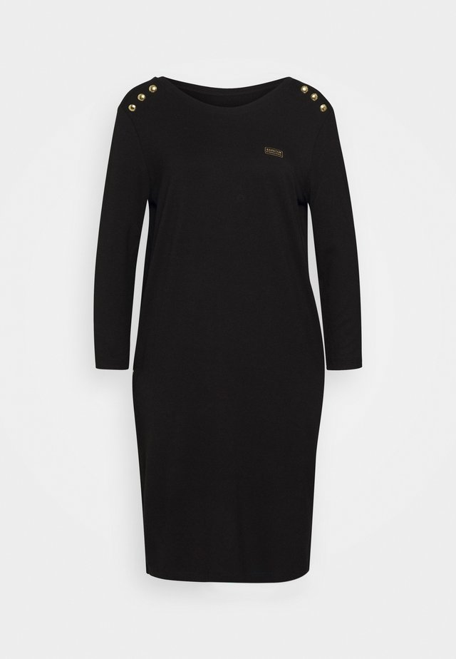 CADWELL DRESS - Jersey dress - black