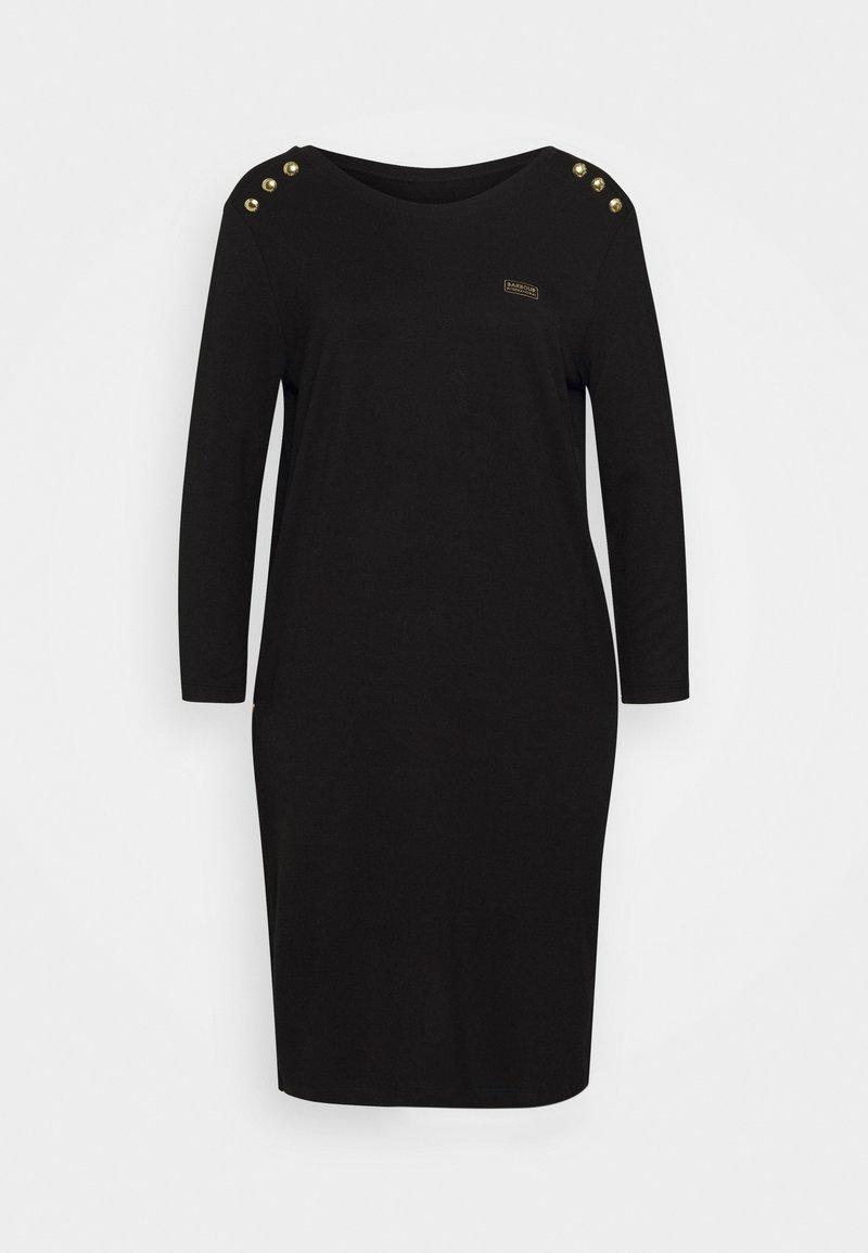 Barbour International - CADWELL DRESS - Jersey dress - black