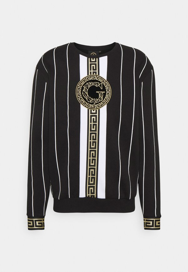 Glorious Gangsta SANTAGO - Bluza - jet black/czarny Odzież Męska SGGS
