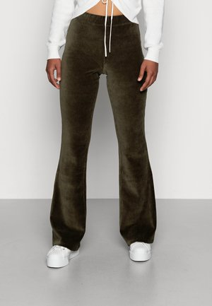 ONLFENJA LIFE FLARED PANT - Trousers - forest night