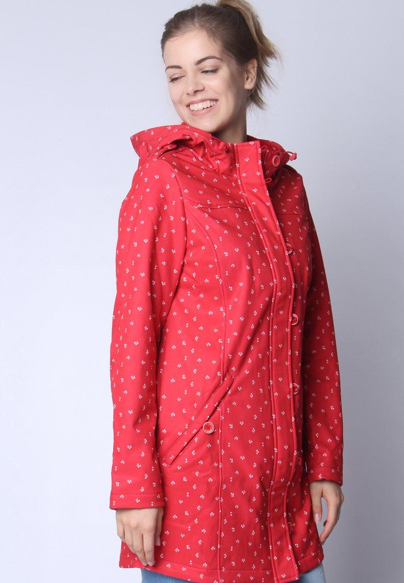 Strange - SARAH  - Short coat - red cherries
