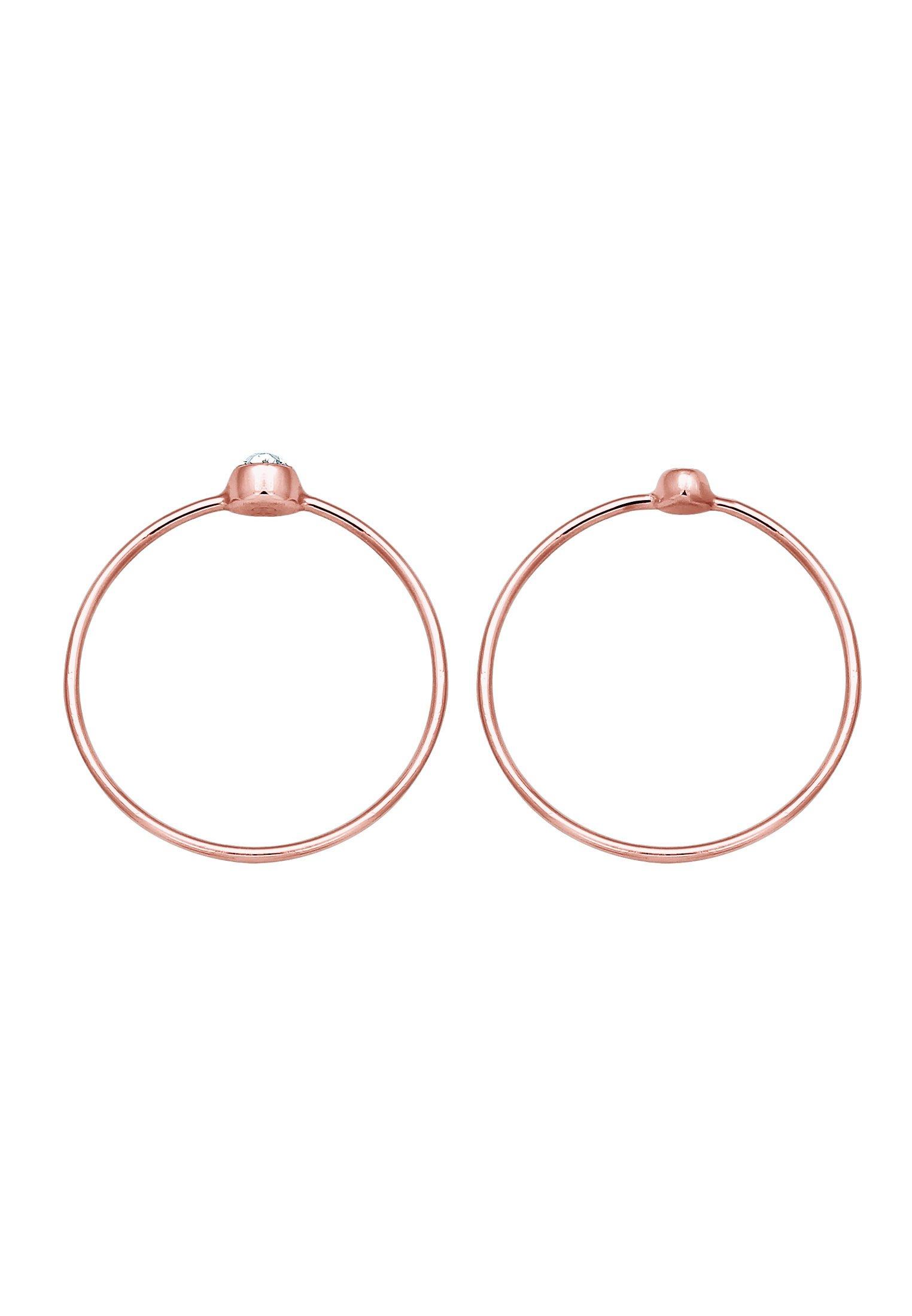 Elli 2pack - Ring Roségold/roségoldfarben