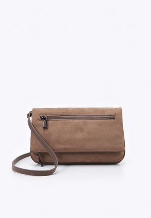 CROSSBODY BAG CHARM - Across body bag - taupe