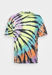 TIE DYE SIGNATURE TEE - Print T-shirt - black