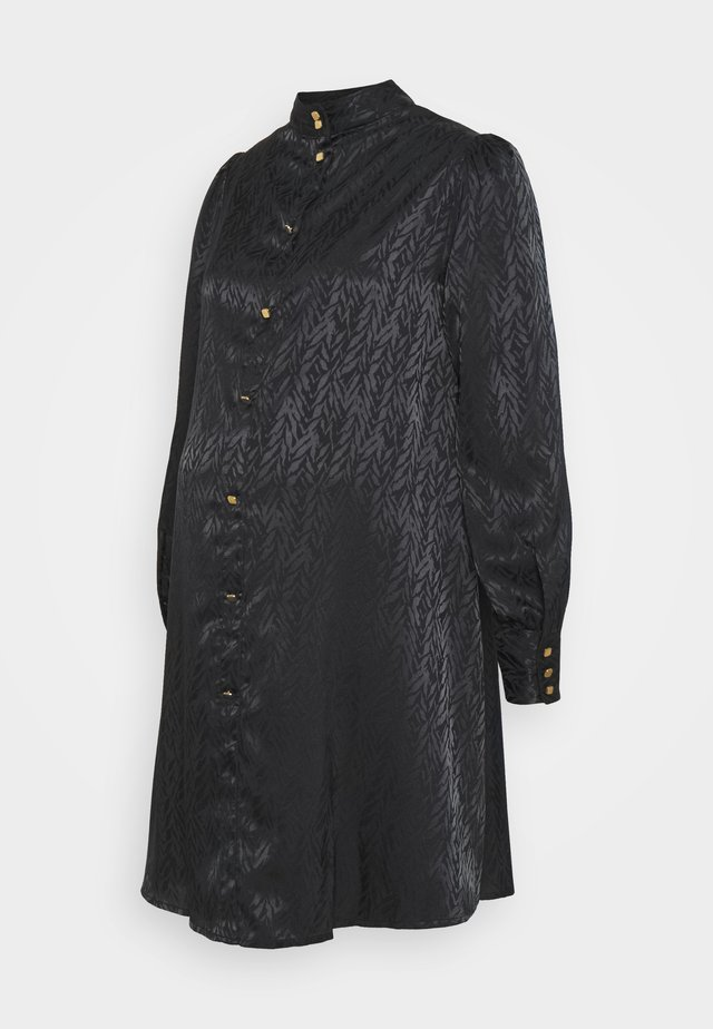 PCMDIVINE DRESS - Shirt dress - black