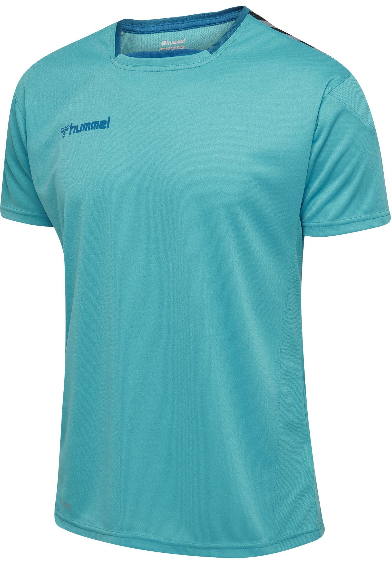 Herren HMLAUTHENTIC POLY  S/S - T-Shirt print