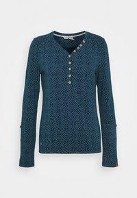 Ragwear - PINCH STARS - Long sleeved top - denim blue - 4