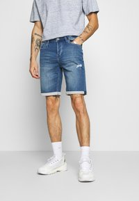 Only & Sons - ONSPLY  - Jeansshorts - blue denim - 0
