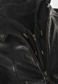 JCC - Leather jacket - black - 4