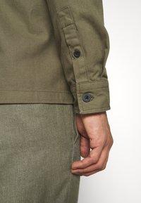 Burton Menswear London - LONG SLEEVE POCKET - Shirt - khaki - 5