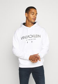 Calvin Klein - Hoodie - white - 0