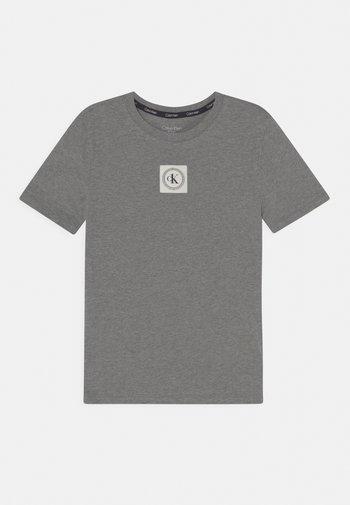 TEE UNISEX - Pyjamasoverdel - dark grey