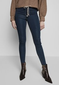 Missguided Tall - VICE HIGHWAISTED - Vaqueros pitillo - vintage blue - 0