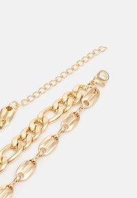 Urban Classics - LAYERING BASIC NECKLACE UNISEX - Smykke - gold-coloured - 1