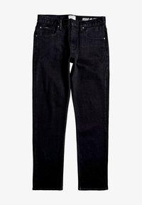 Quiksilver - SEQUEL - Straight leg jeans - black black - 4