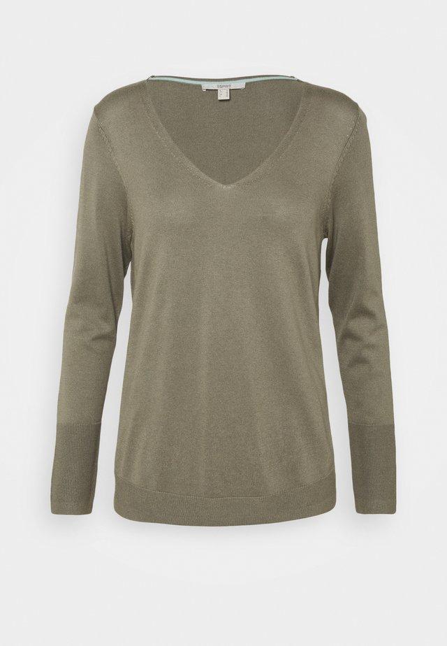 Pullover - light khaki