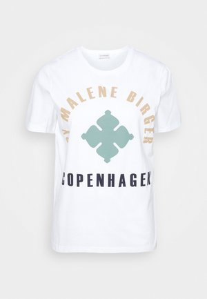DESMOS - Print T-shirt - pure white