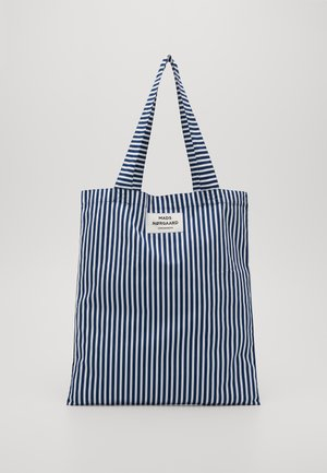 SOFT ATOMA - Shopper - navy/white