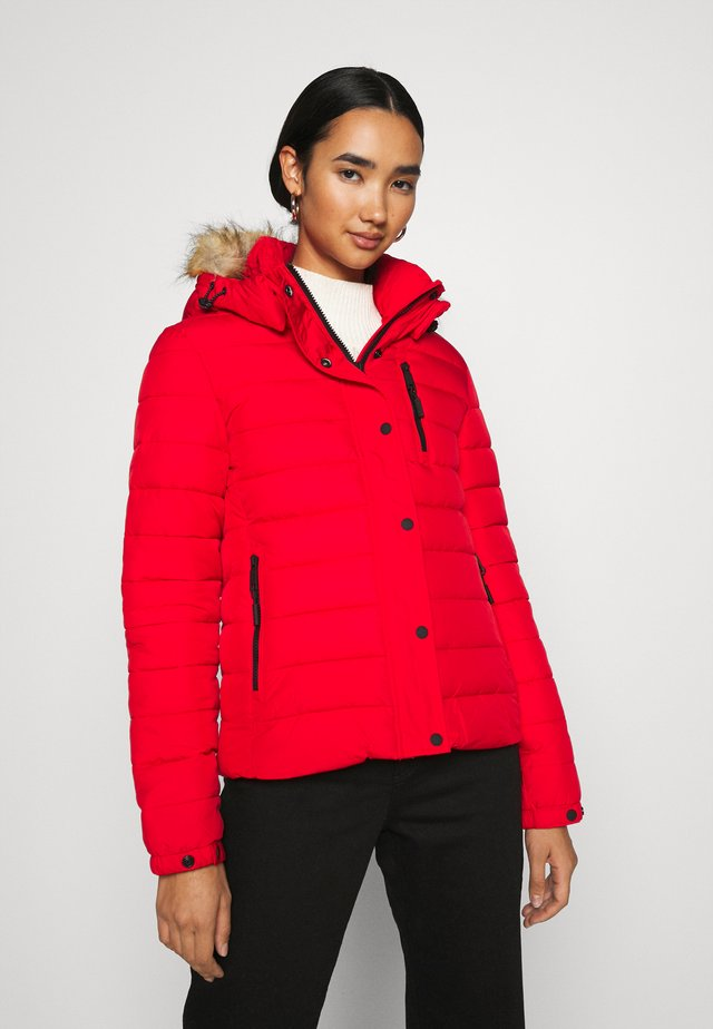 CLASSIC FUJI JACKET - Kurtka zimowa - high risk red