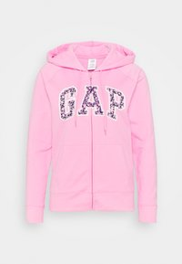 GAP - FASH NOVELTY - Zip-up sweatshirt - pink flamingo - 0