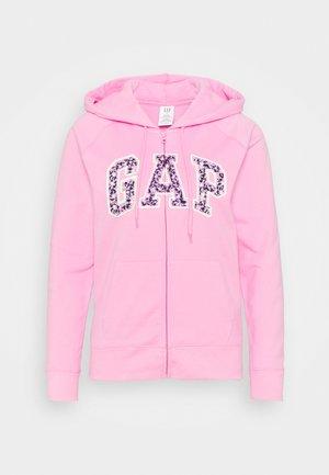 FASH NOVELTY - Sweater met rits - pink flamingo