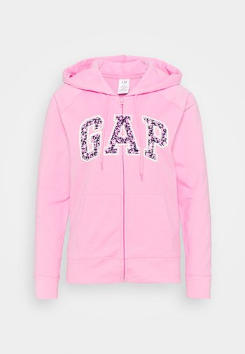 FASH NOVELTY - Mikina na zip - pink flamingo