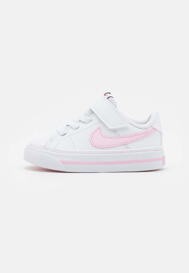 COURT LEGACY  - Sneakers laag - white/pink foam