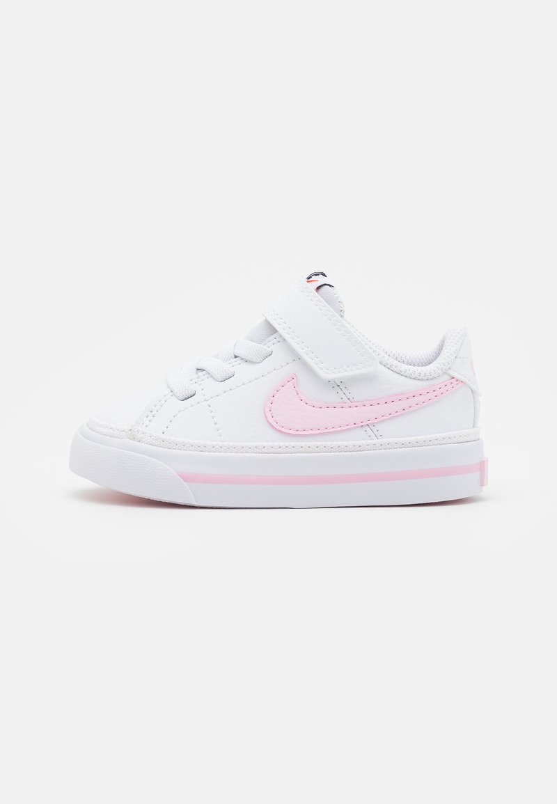 Nike Sportswear - COURT LEGACY  - Trainers - white/pink foam
