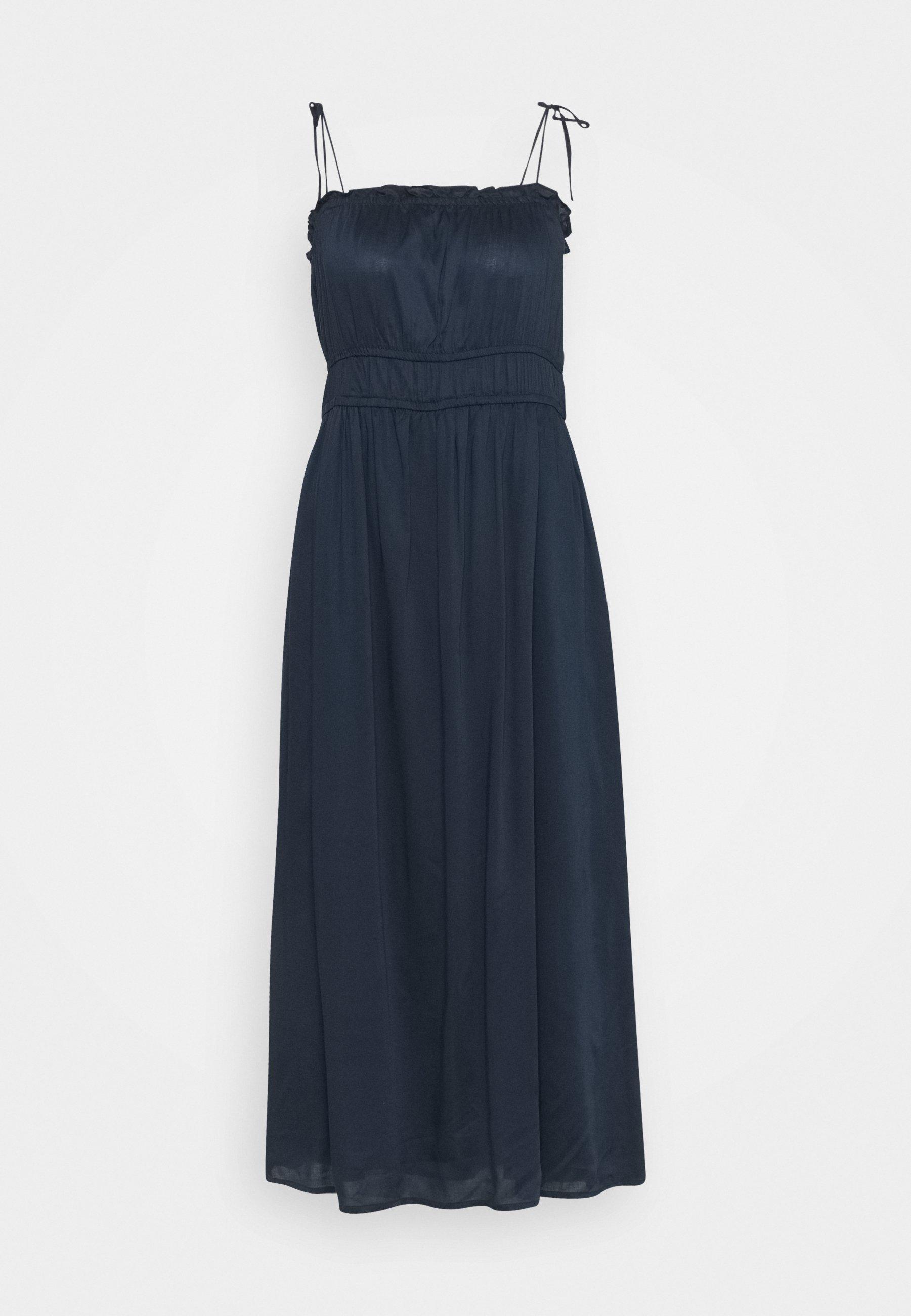 Women VMHELYN STRAP CALF DRESS TALL - Day dress