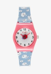 Cath Kidston - KIDS WATCH WASHED DITSY - Hodinky - blue denim - 0