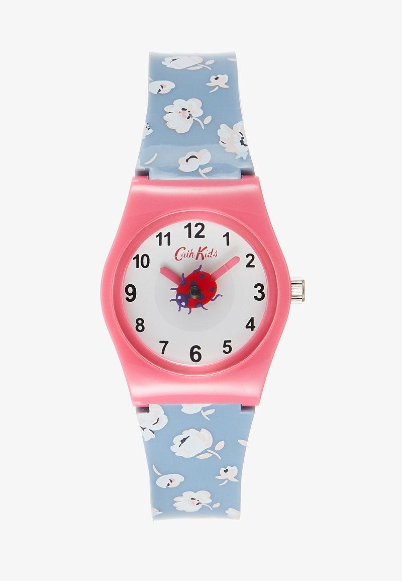 Cath Kidston - KIDS WATCH WASHED DITSY - Hodinky - blue denim