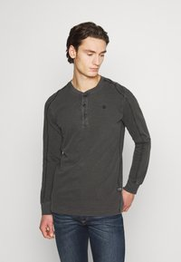 G-Star - BLAST GDAD  - Långärmad tröja - dark black - 0