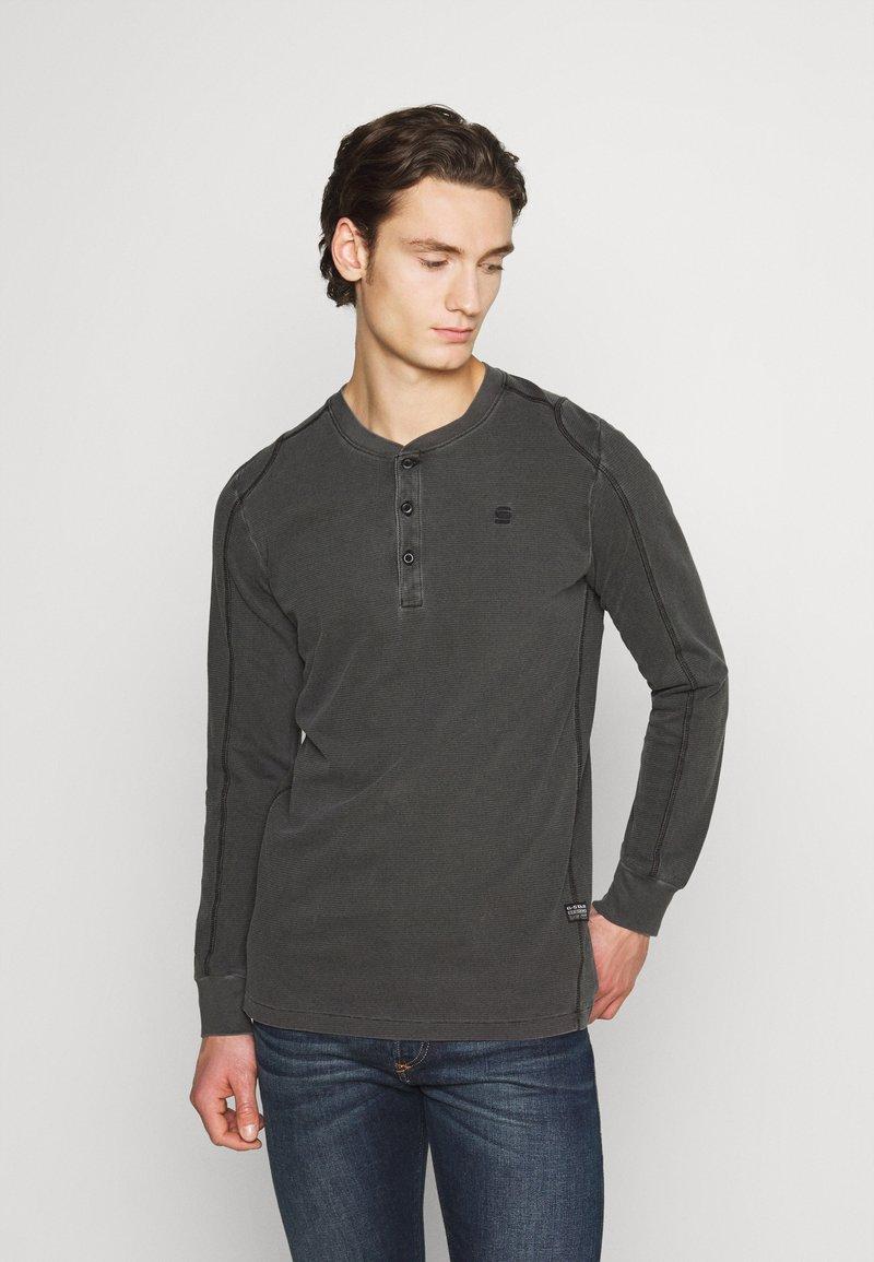 G-Star - BLAST GDAD  - Långärmad tröja - dark black