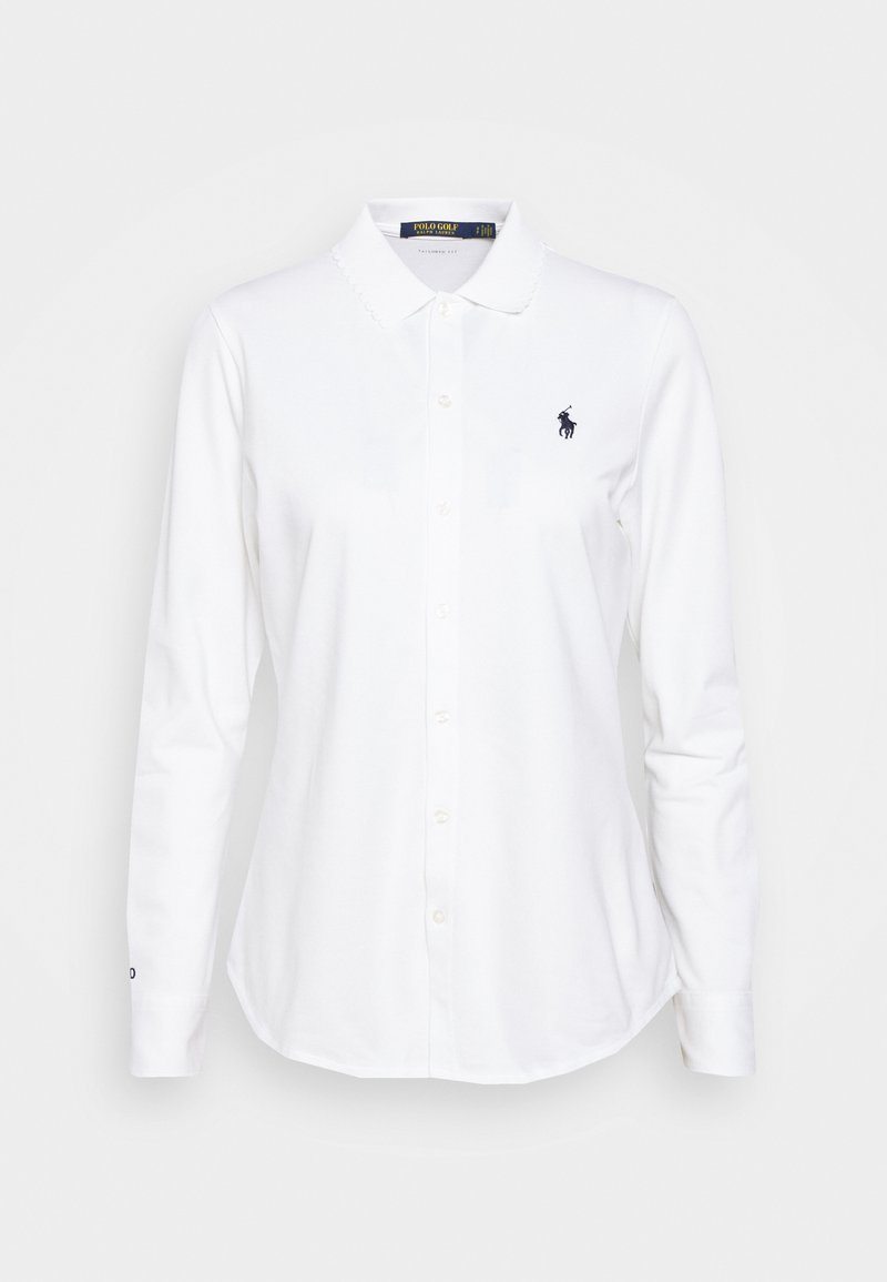 Polo Ralph Lauren Golf - LONG SLEEVE - Polo shirt - pure white
