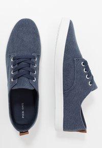 Pier One - UNISEX - Sneakers basse - dark blue - 1
