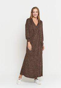 Madam-T - FEMIDA - Maxi dress - braun - 1