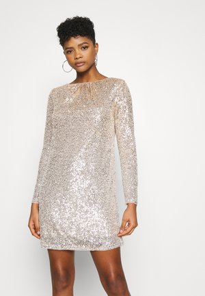 REVEL DRESS - Sukienka koktajlowa - gold/silver