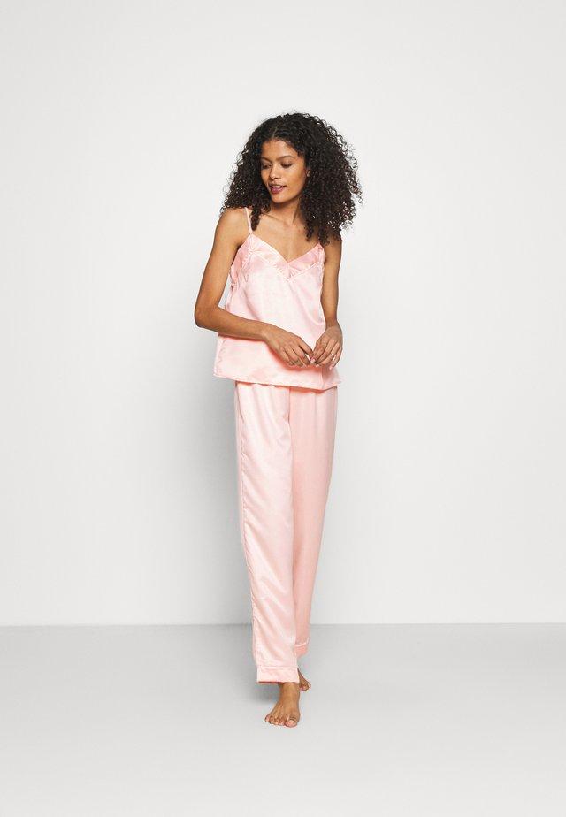 CAMI LONG PANTS  - Piżama - pink