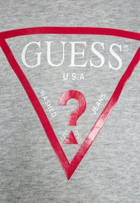 Guess - JUNIOR CORE - Sudadera - light heather grey - 2