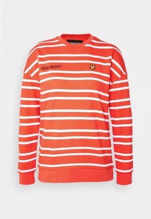 STRIPED - Sweatshirt -  orange
