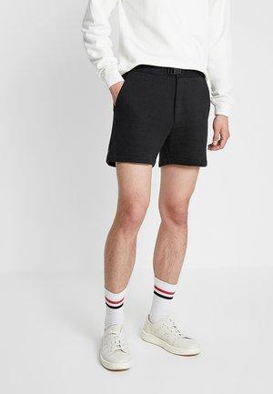ESMAN - Pantaloni sportivi - black