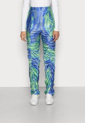 Spodnie materiałowe - mermaid blue/green