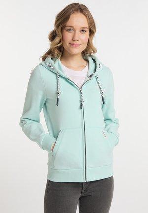Zip-up sweatshirt - pastellmint