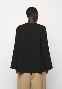 Theory - FLUID BLOUSE ADMIRAL - Blouse - black - 2