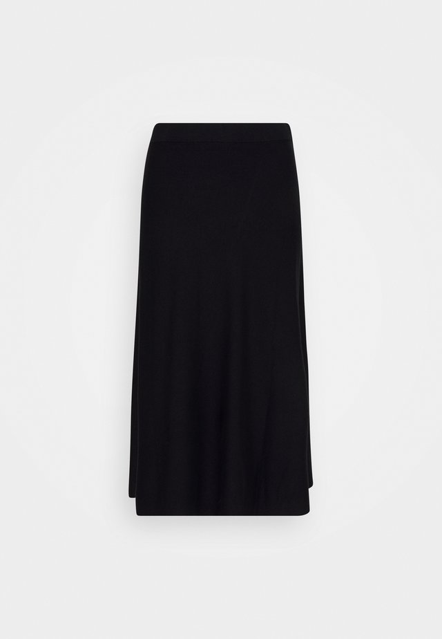 STINA - A-lijn rok - black